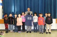 GOS Students Honor State Rep. Simpson