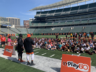 Holmes Middle School Students at Paul Brown Stadium