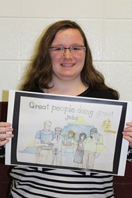 Holmes senior wins poster contest