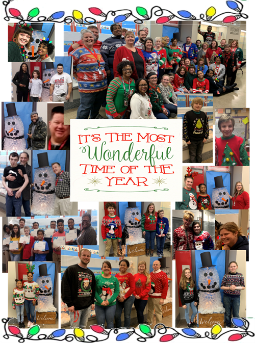Ugly Sweater Collage