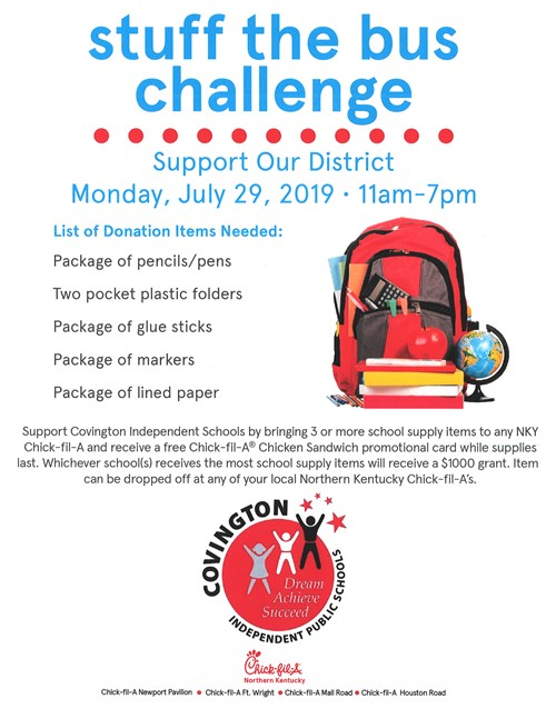 stuff the bus challenge