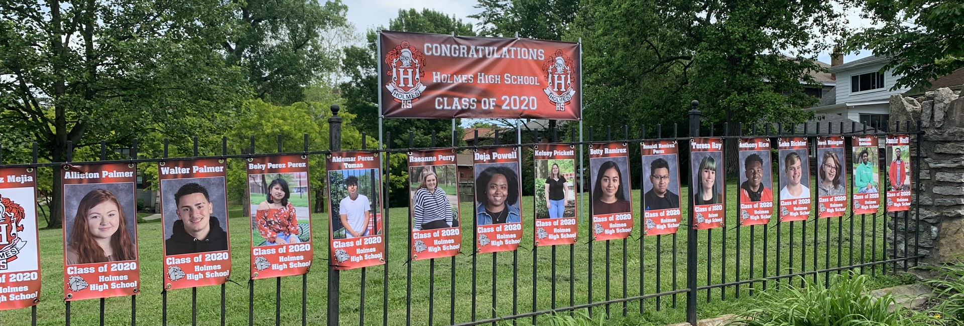 Banners Honor Class of 2020