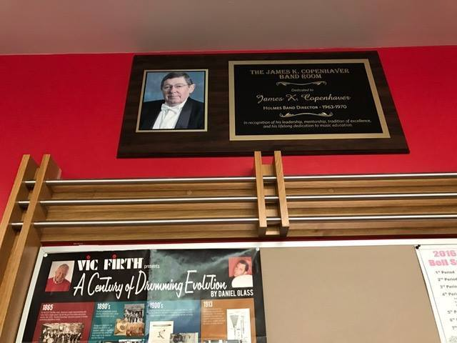 Band Room Dedication