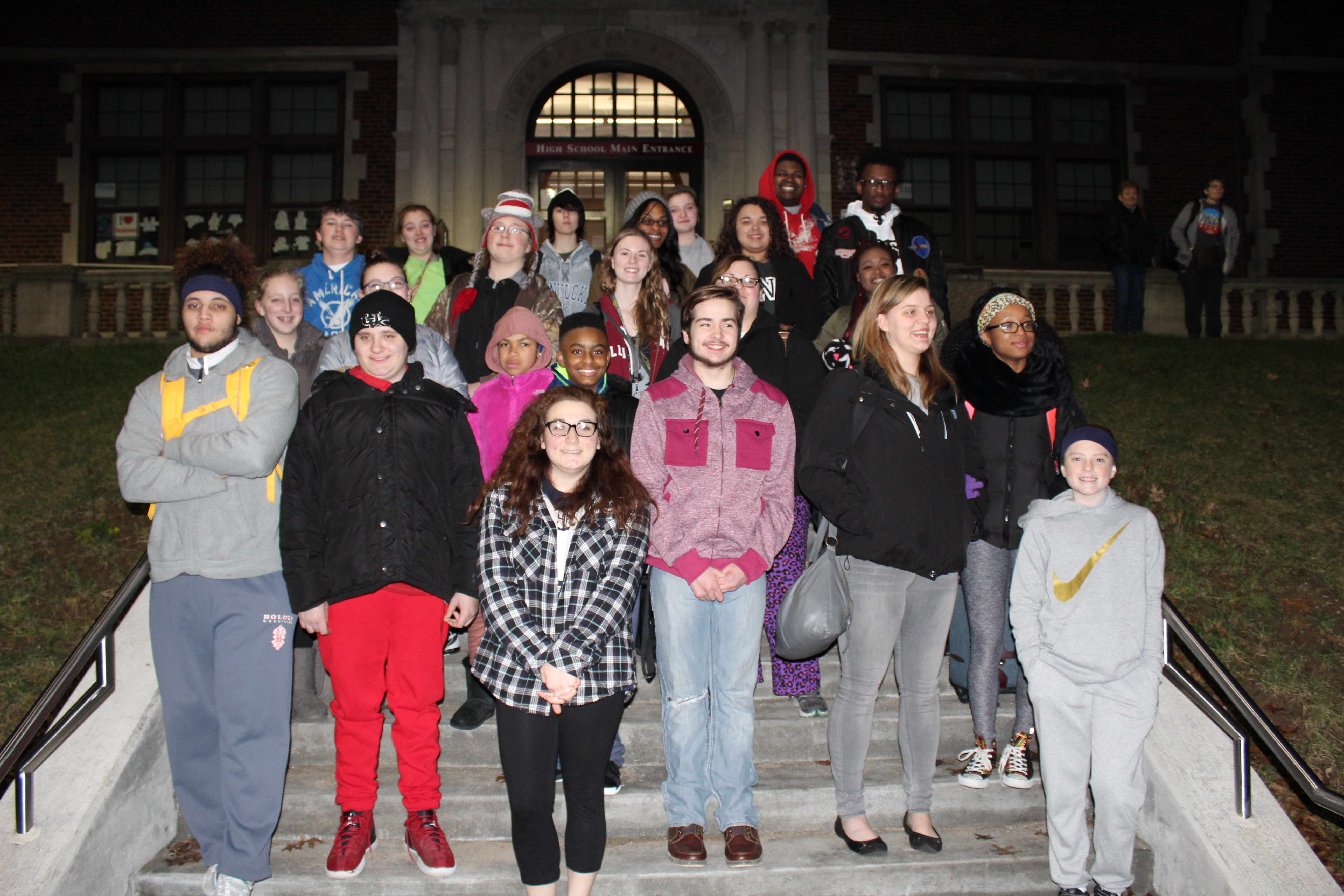 Students Head to Inauguration Festivities
