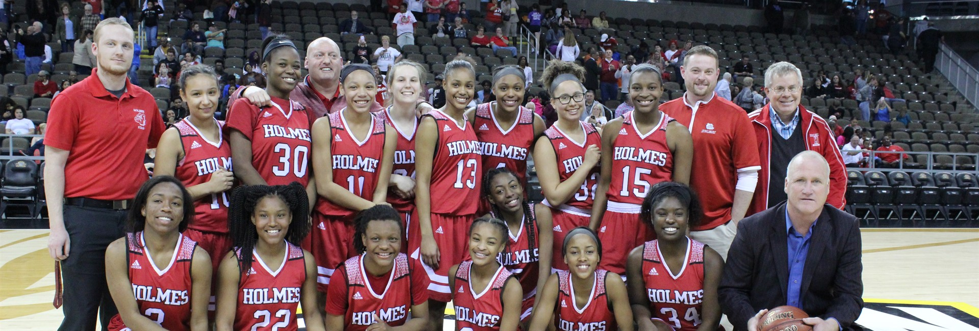 Holmes Lady Bulldogs are Ninth Region Champions!