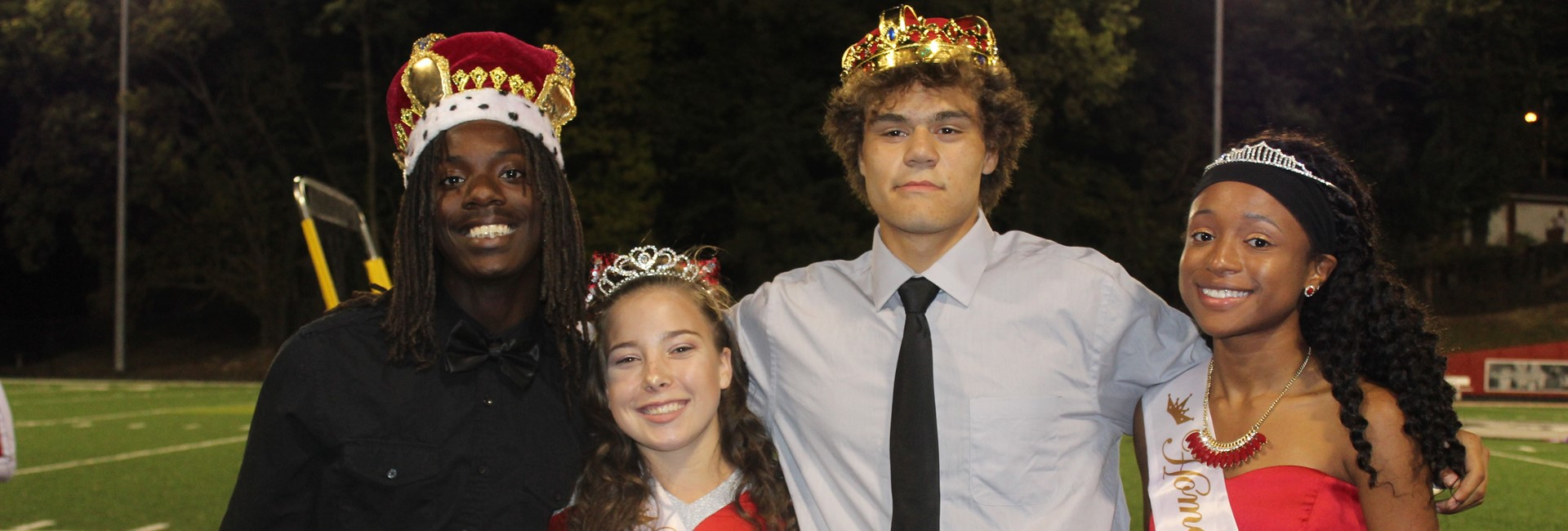 Homecoming King and Queen, Prince and Princess